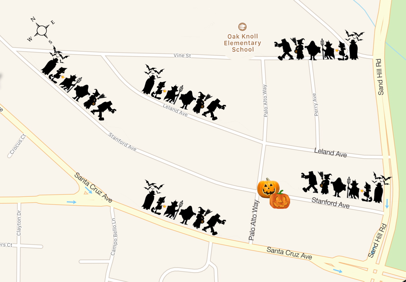 Our Traditional Neighborhood Halloween Events